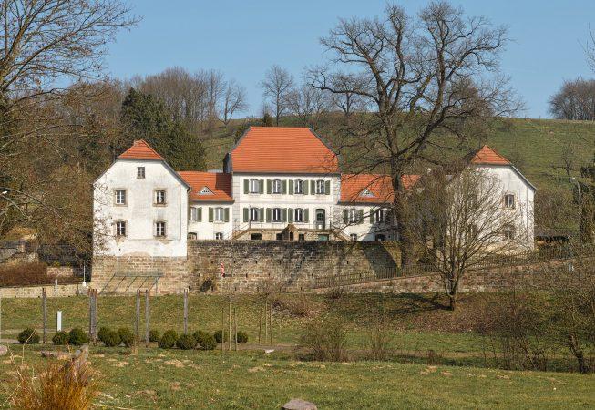 Das Jagdschloss Karlsbrunn, Großrosseln, Regionalverband Saarbrücken