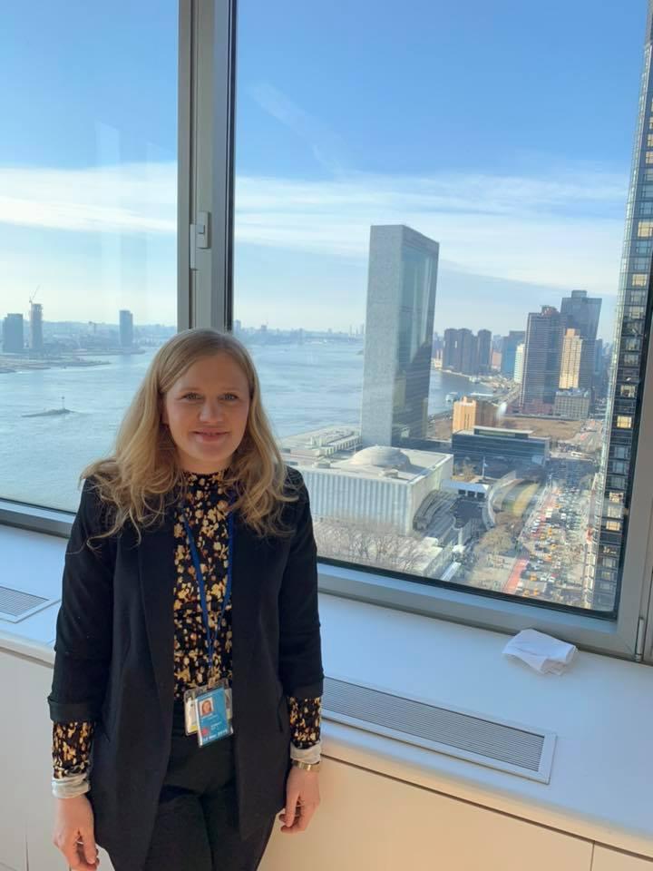 Saarbrücker Bundestagsabgeordnete Josephine Ortleb zur Sitzung des UN-Sicherheitsrats in New York