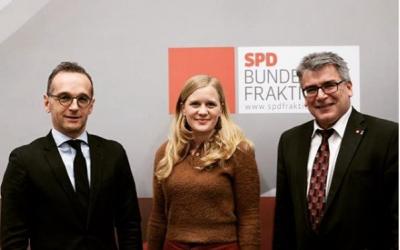 SPD-Bundestagsabgeordnete aus den 20 größten Stahlstandorten Deutschlands kämpfen gemeinsam für die deutsche Stahlindustrie