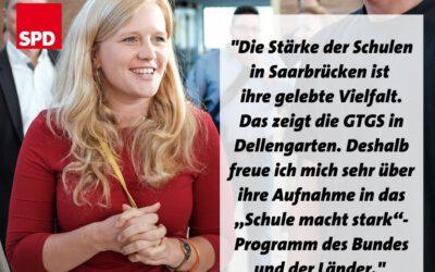 "Die grundschule Saarbrücken-Dellengarten im Programm ""Schule macht stark"""
